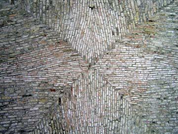 [brick ceiling]