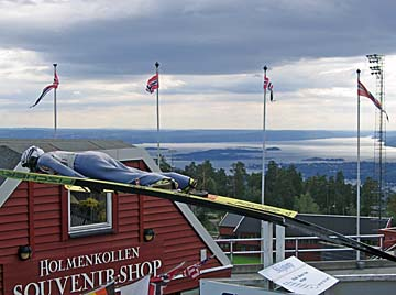 [oslofjord & ski jumper]