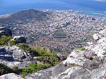 [Cape Town from Table Mountain]