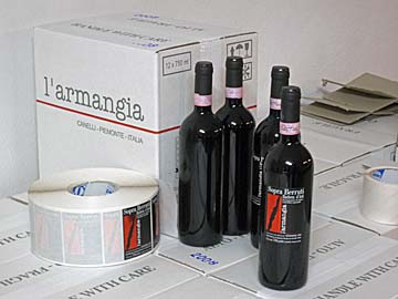 [l&#8217;armangia bottles]