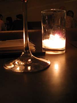 [candle at aoc]