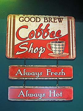 [coffee sign]