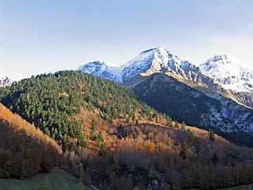 [mountain sunset]