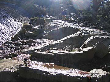 [sun, water, rocks]