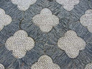 huntington chinese garden stone tile
