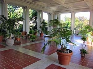 huntington library terrace