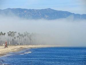 santa barbara fog