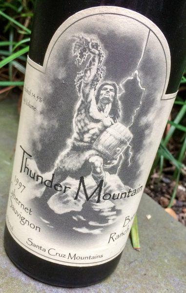 [thunder mountain cabernet sauvignon]